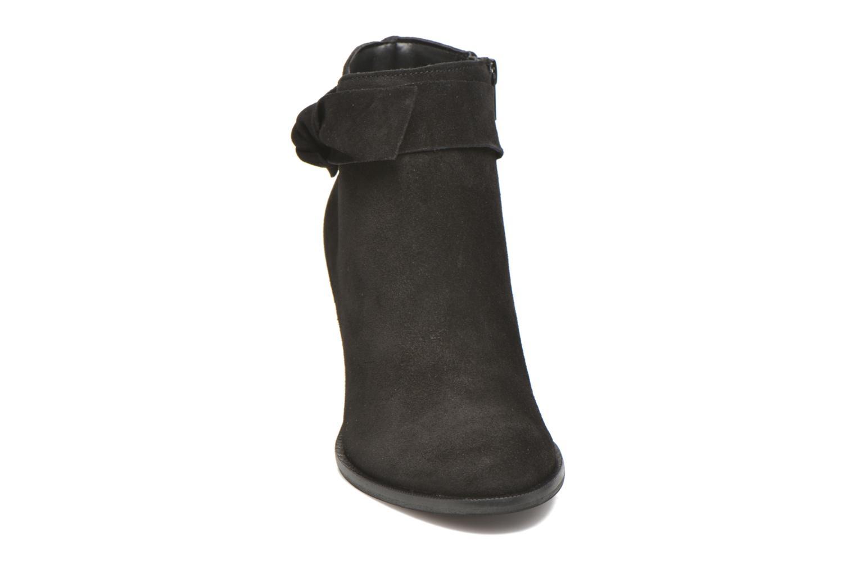 Bottines et boots Vero Moda Fena Leather Boot Noir vue portées chaussures