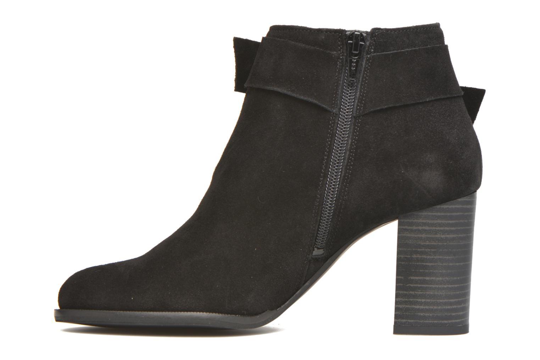 Bottines et boots Vero Moda Fena Leather Boot Noir vue face