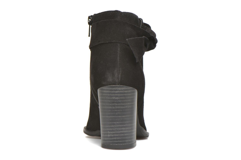 Bottines et boots Vero Moda Fena Leather Boot Noir vue droite