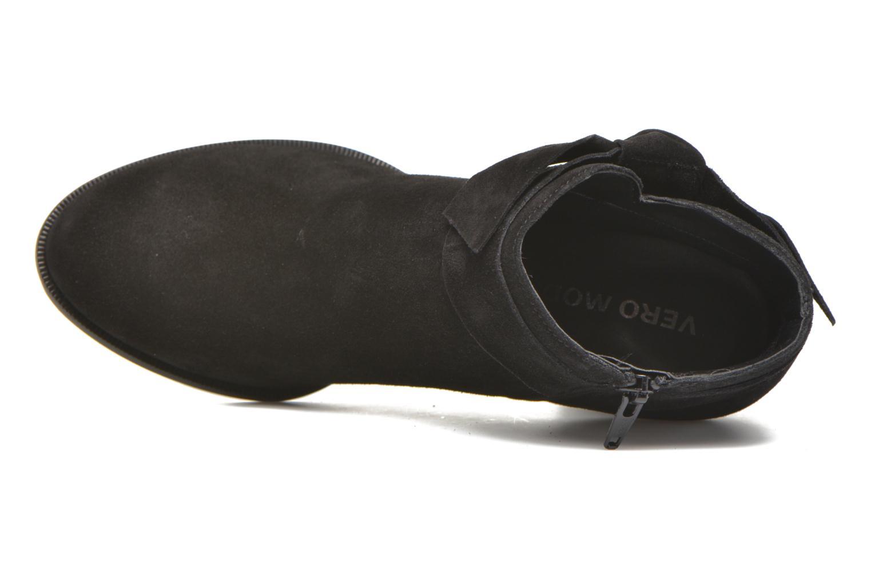 Bottines et boots Vero Moda Fena Leather Boot Noir vue gauche