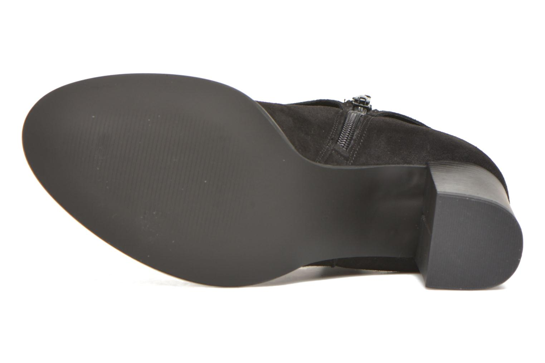 Bottines et boots Vero Moda Fena Leather Boot Noir vue haut
