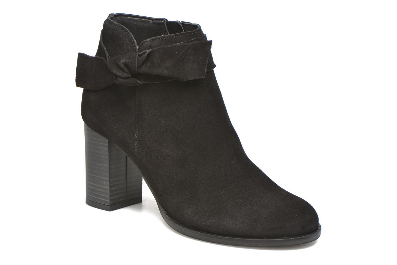 Bottines et boots Vero Moda Fena Leather Boot Noir vue détail/paire
