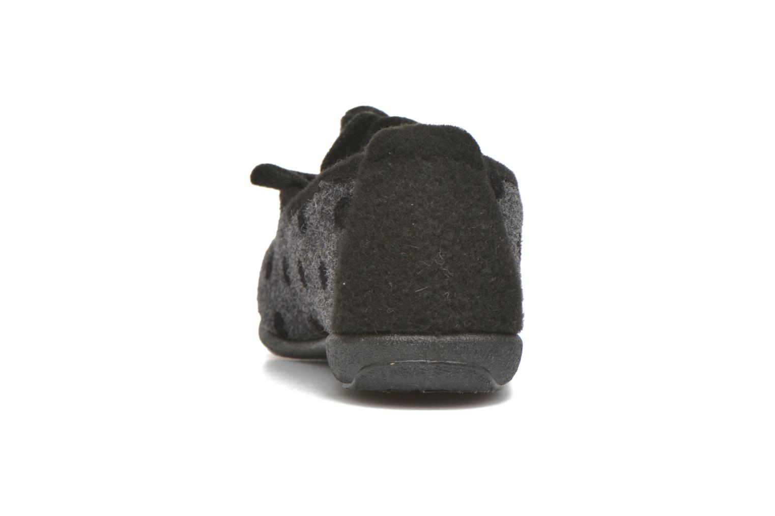 Chaussons Rondinaud Aclou Gris vue droite