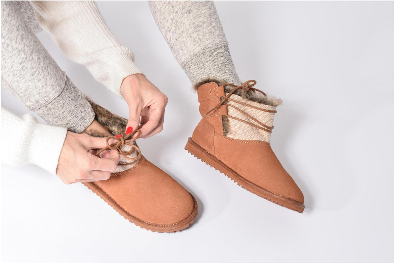 Stiefeletten & Boots Roxy Tara braun ansicht von unten / tasche getragen