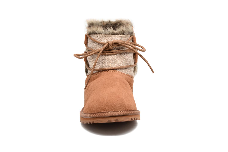 Bottines et boots Roxy Tara Marron vue portées chaussures
