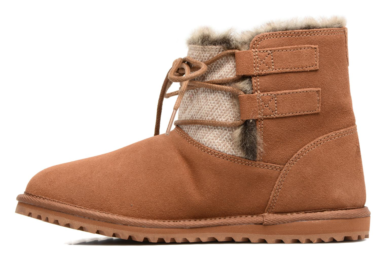 Bottines et boots Roxy Tara Marron vue face