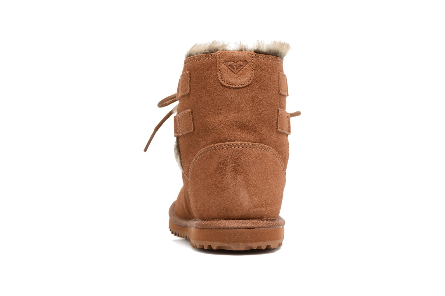 Ankle boots Roxy Tara Brown view from the right