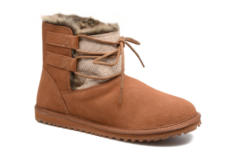 Bottines et boots Roxy Tara Marron vue détail/paire