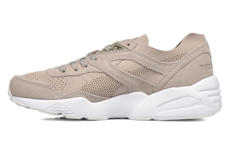 Sneaker Puma R698 Soft Pack beige ansicht von vorne