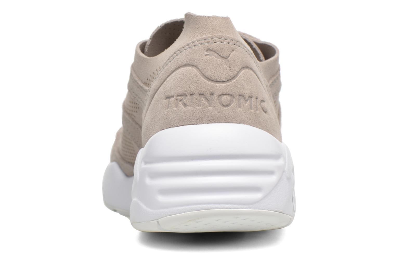 Sneaker Puma R698 Soft Pack beige ansicht von rechts