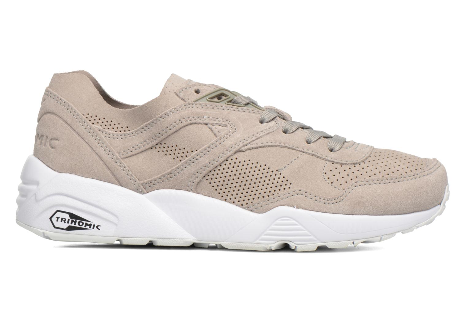 Trainers Puma R698 Soft Pack Beige back view