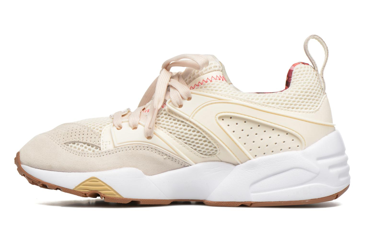 Trainers Puma Trinomic Blaze Of Glory X Careaux White front view