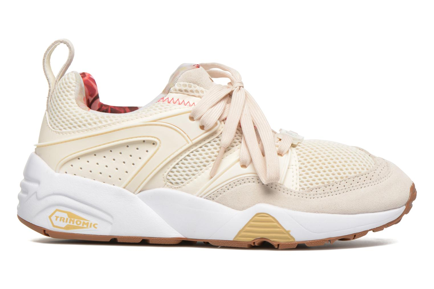 Trainers Puma Trinomic Blaze Of Glory X Careaux White back view