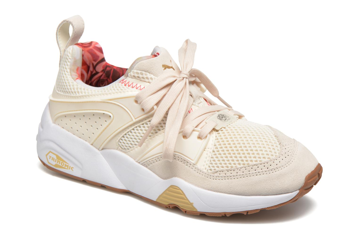 Baskets Puma Trinomic Blaze Of Glory X Careaux Blanc vue détail/paire
