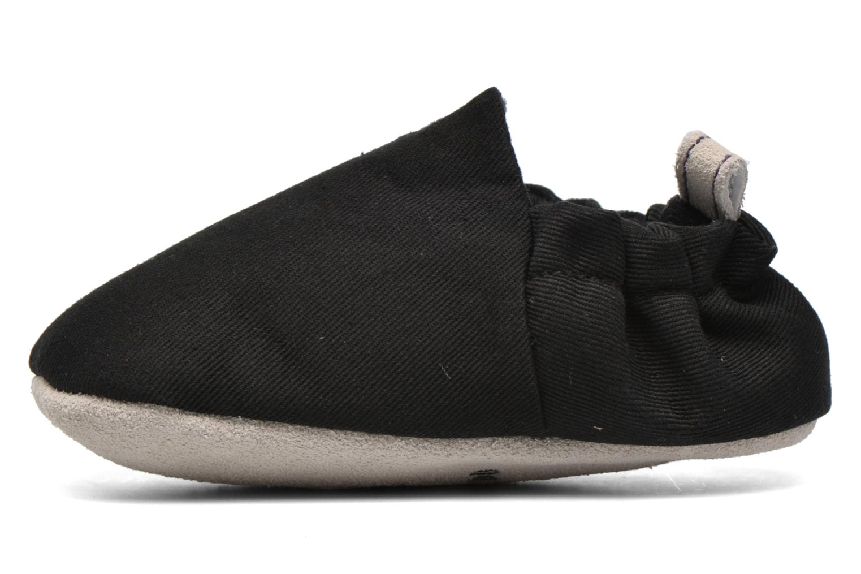 Pantofole Poco Nido Plain Nero immagine destra