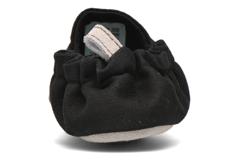 Pantofole Poco Nido Plain Nero immagine posteriore