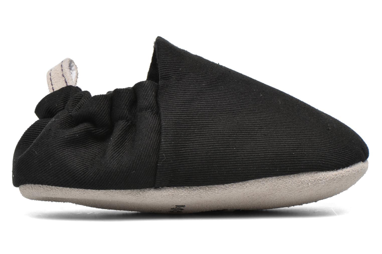 Pantofole Poco Nido Plain Nero immagine sinistra