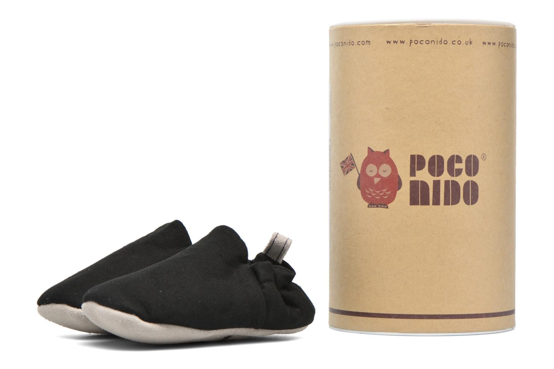 Pantofole Poco Nido Plain Nero vedi dettaglio/paio