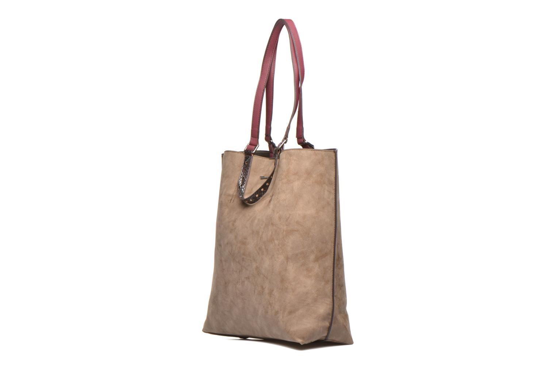 Handtaschen Tamaris AMBER Shopping bag beige schuhe getragen