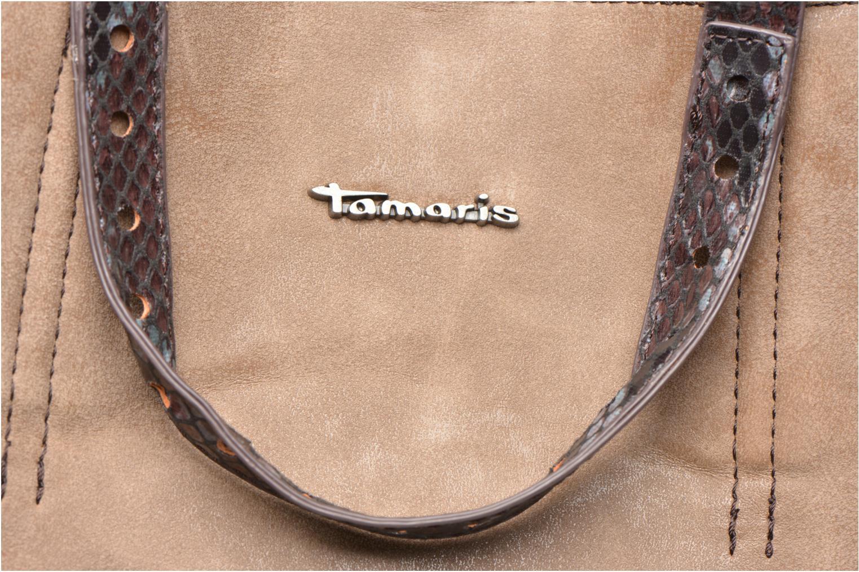 Handtaschen Tamaris AMBER Shopping bag beige ansicht von links