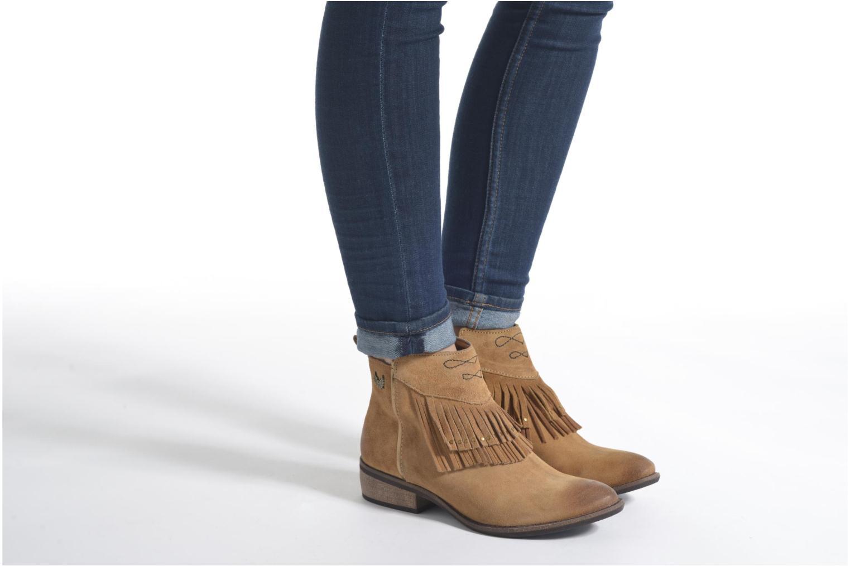 Bottines et boots Kaporal Westy Marron vue bas / vue portée sac