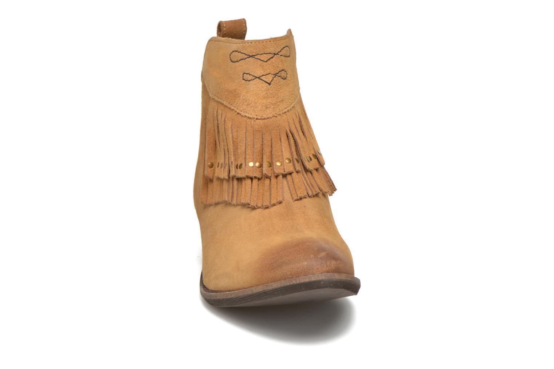 Bottines et boots Kaporal Westy Marron vue portées chaussures