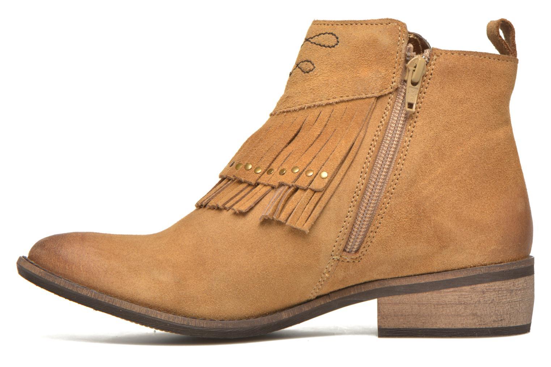 Bottines et boots Kaporal Westy Marron vue face