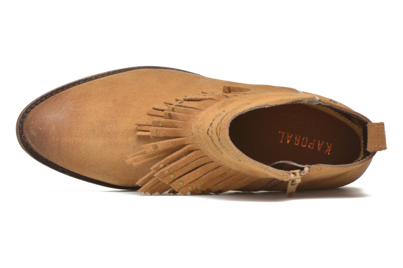 Bottines et boots Kaporal Westy Marron vue gauche