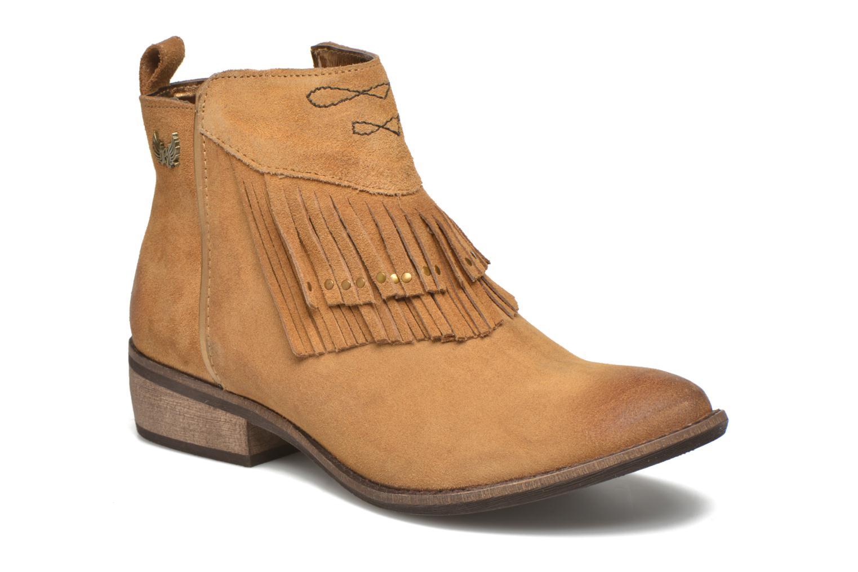Bottines et boots Kaporal Westy Marron vue détail/paire