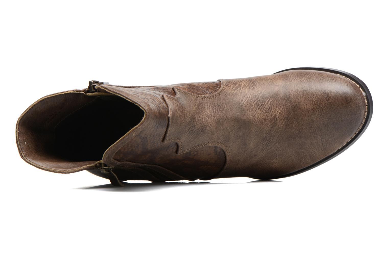 Bottines et boots Kaporal Pim Marron vue gauche