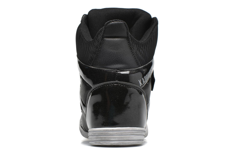 Baskets Kaporal Sofia Noir vue droite