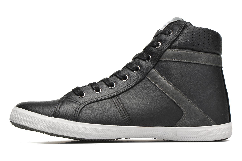Sneaker Kaporal Tyan schwarz ansicht von vorne