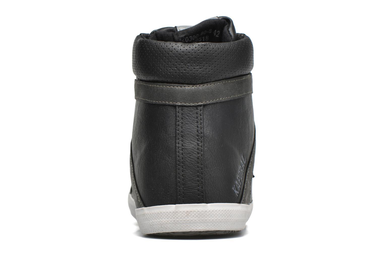 Sneaker Kaporal Tyan schwarz ansicht von rechts