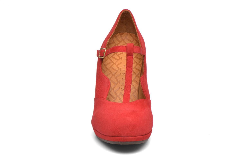 Zapatos de tacón Chie Mihara Ruana Rojo vista del modelo