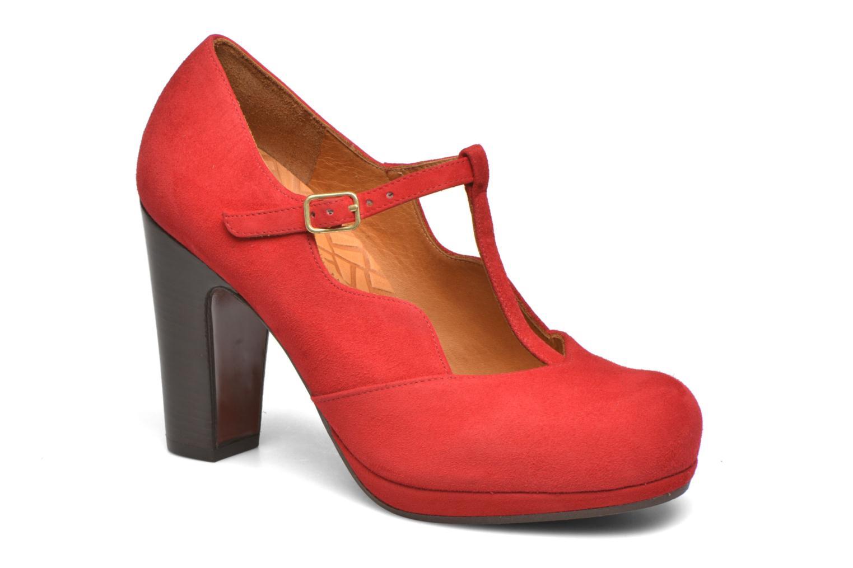 Zapatos de tacón Chie Mihara Ruana Rojo vista de detalle / par