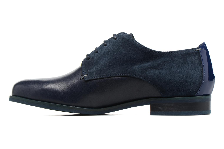 Chaussures à lacets HE Spring Morgan Bleu vue face