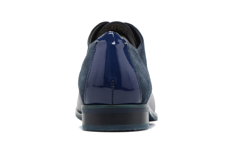 Chaussures à lacets HE Spring Morgan Bleu vue droite