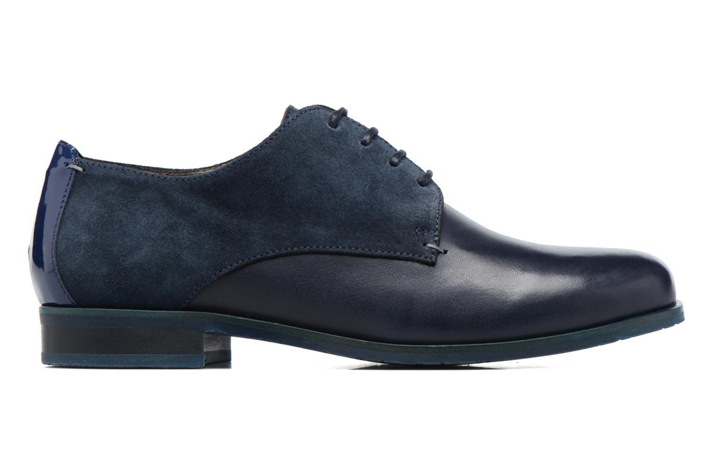 Chaussures à lacets HE Spring Morgan Bleu vue derrière