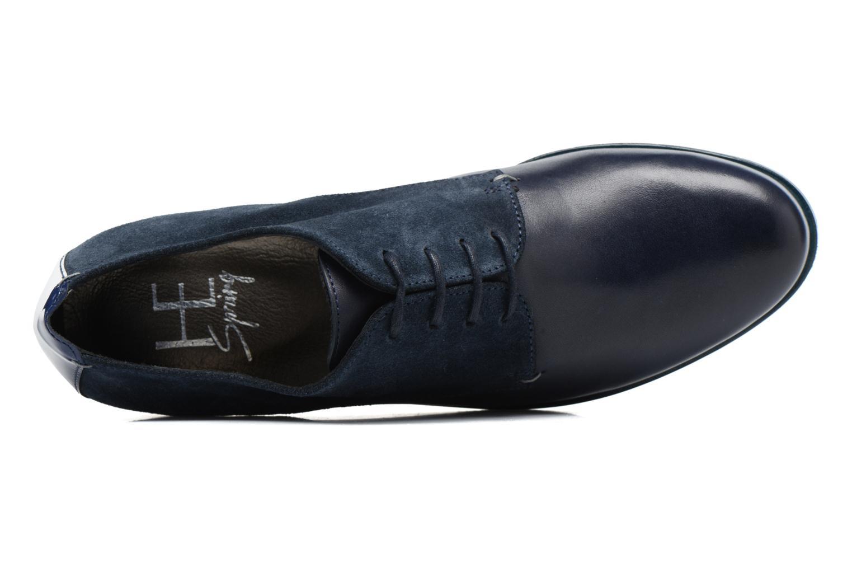 Chaussures à lacets HE Spring Morgan Bleu vue gauche