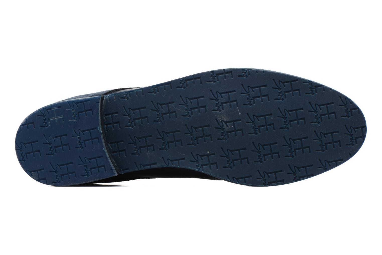 Chaussures à lacets HE Spring Morgan Bleu vue haut