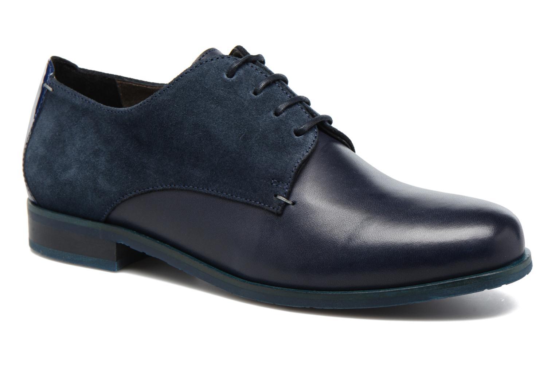 Chaussures à lacets HE Spring Morgan Bleu vue détail/paire