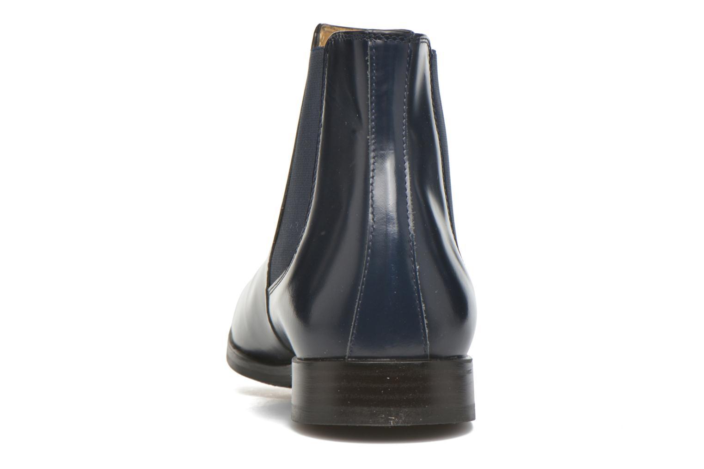 Bottines et boots HE Spring Tom Bleu vue droite