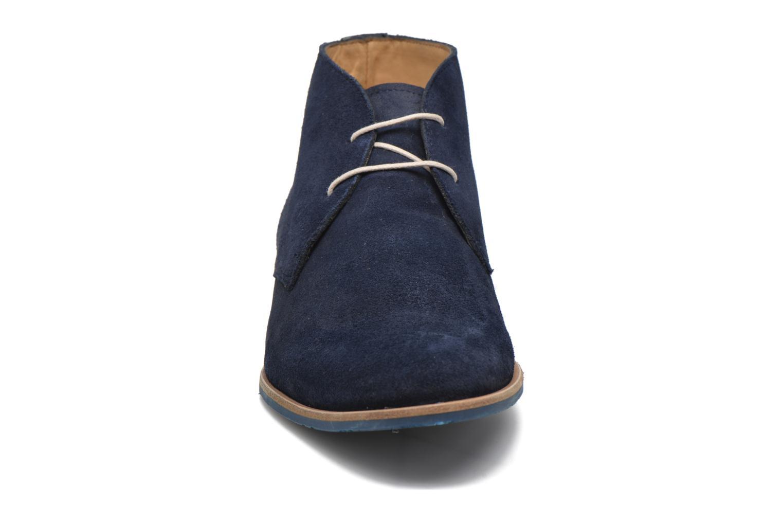 Schnürschuhe HE Spring Andy blau schuhe getragen