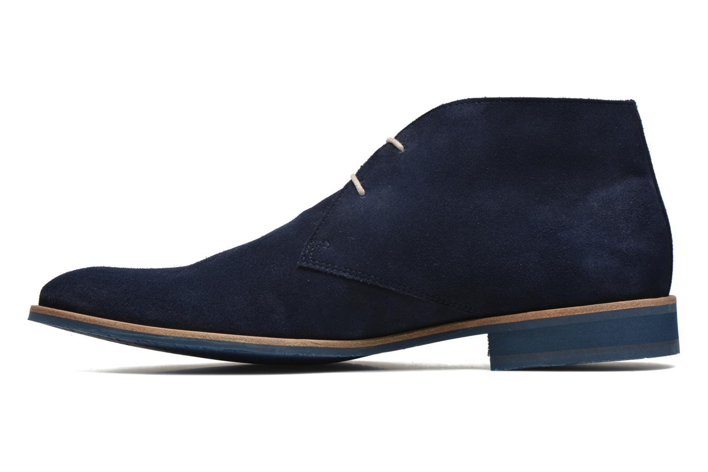 Chaussures à lacets HE Spring Andy Bleu vue face
