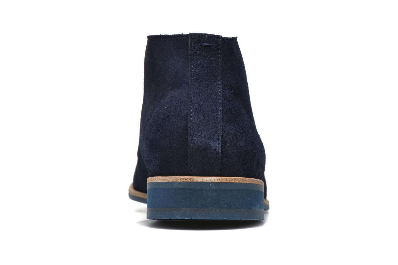 Chaussures à lacets HE Spring Andy Bleu vue droite
