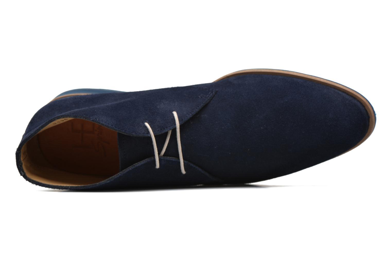 Chaussures à lacets HE Spring Andy Bleu vue gauche