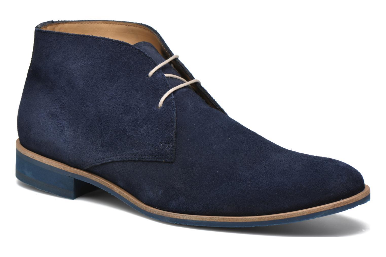 Chaussures à lacets HE Spring Andy Bleu vue détail/paire