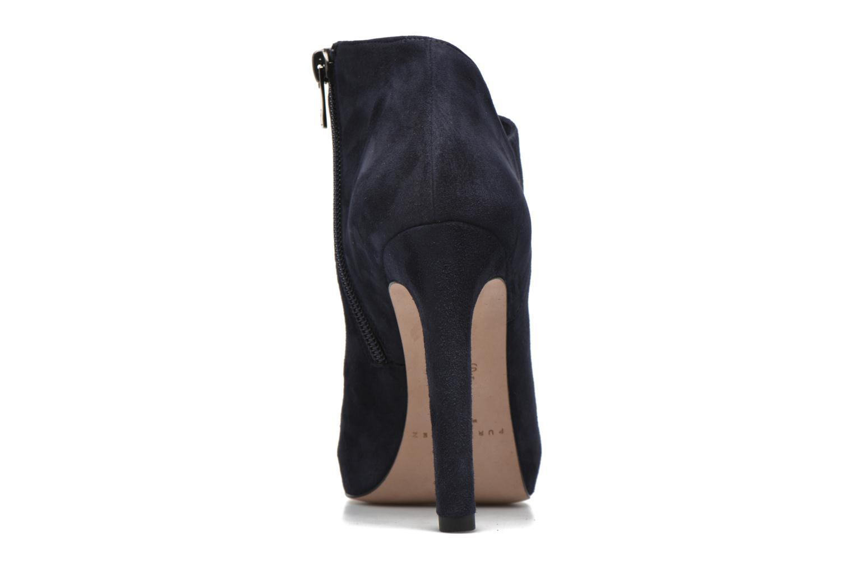 Bottines et boots Pura Lopez Louana Bleu vue droite