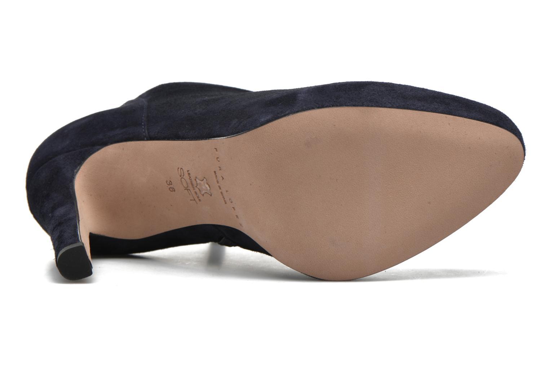 Bottines et boots Pura Lopez Louana Bleu vue haut
