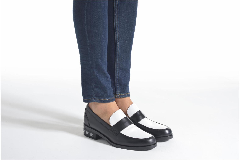 Slipper Karl Lagerfeld Pop Sneaker schwarz ansicht von unten / tasche getragen